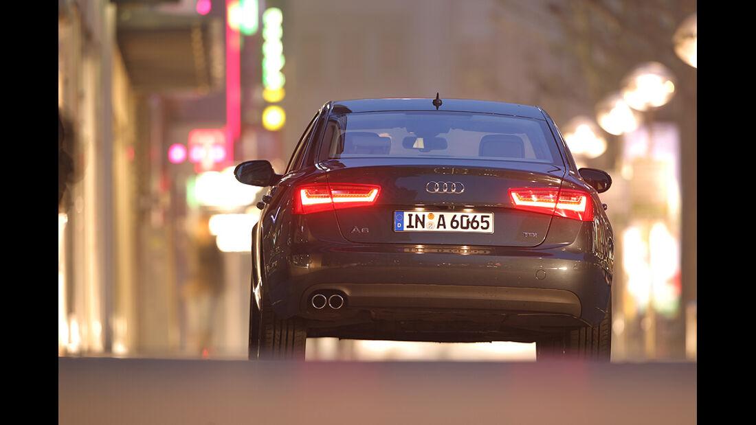 Audi A6 2.0 TDI, Front, Heck