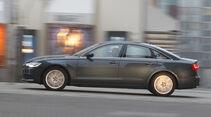 Audi A6 2.0 TDI, Front, Seitenansicht