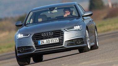 Audi A6 2.0 TDI, Frontansicht