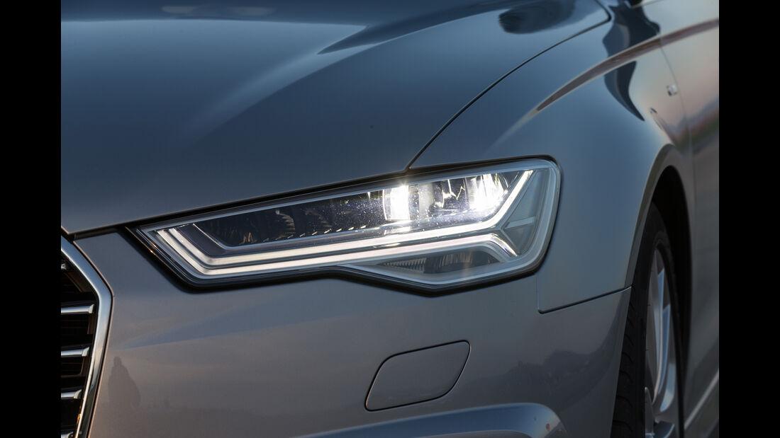 Audi A6 2.0 TDI, Frontscheinwerfer