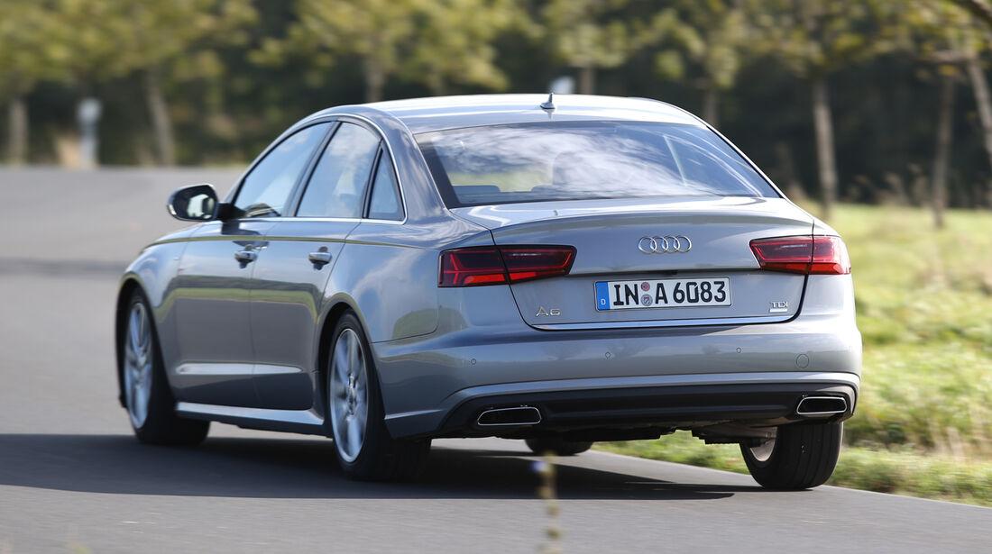 Audi A6 2.0 TDI, Heckansicht