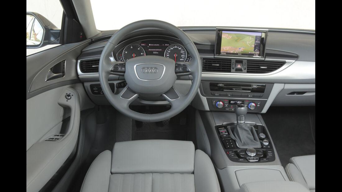 Audi A6 2.0 TDI, Innenraum, Cockpit