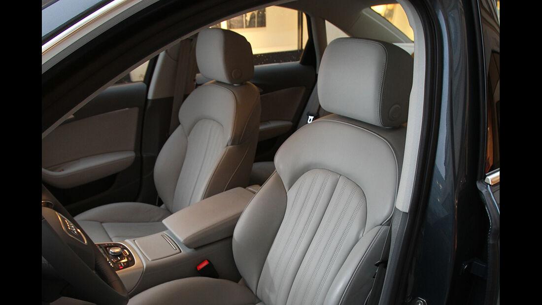 Audi A6 2.0 TDI, Inneraum, Sitze