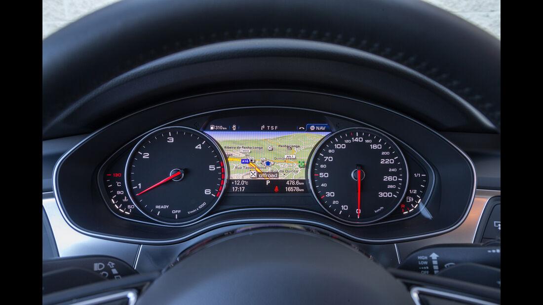 Audi A6 2.0 TDI Quattro, Anzeigeinstrumente