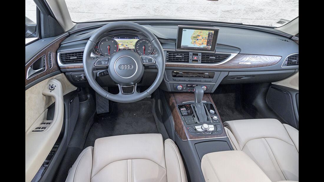 Audi A6 2.0 TDI Quattro, Cockpit