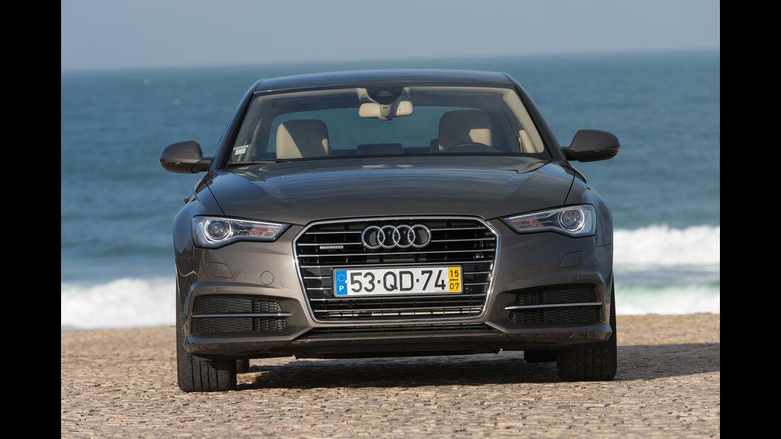 Audi A6 2.0 TDI Quattro, Frontansicht