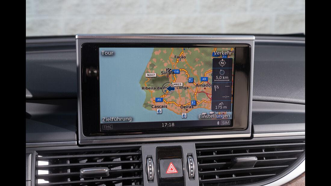 Audi A6 2.0 TDI Quattro, Navi