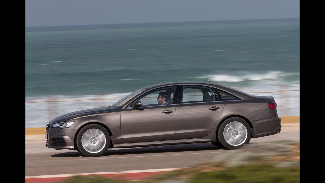 Audi A6 2.0 TDI Quattro, Seitenansicht