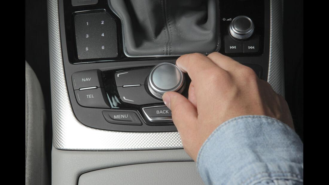 Audi A6 2.0 TDI, Regler
