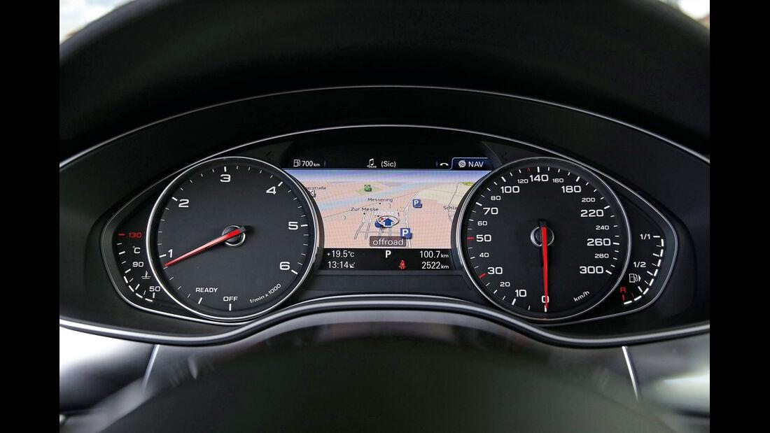 Audi A6 2.0 TDI, Rundinastrumente