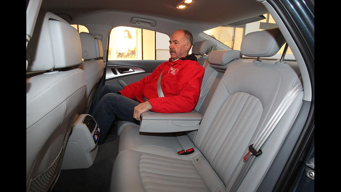 Audi A6 2.0 TDI, Sitze hinten