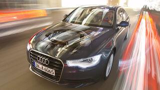 Audi A6 2.0 TDI, Testwagen, Front