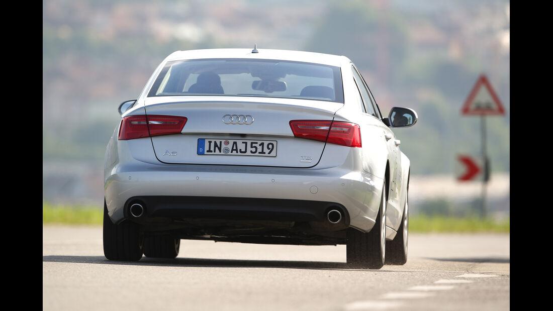 Audi A6 2.0 TDI Ultra, Heckansicht