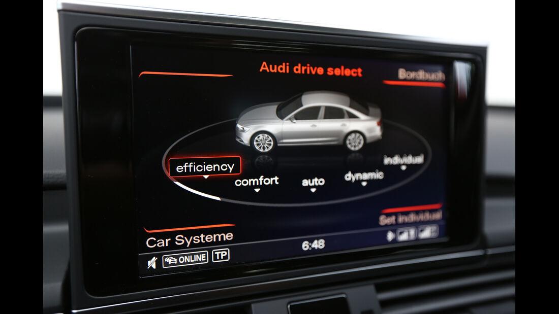 Audi A6 2.0 TDI Ultra, Monitor, Bildschirm