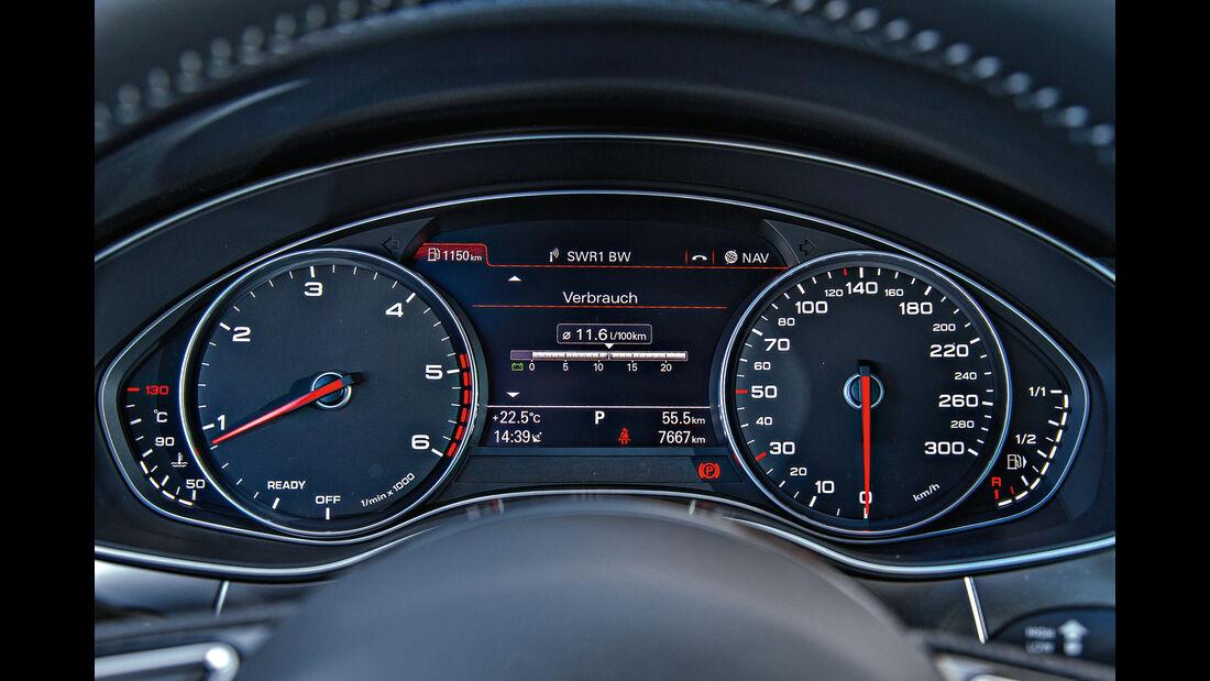 Audi A6 2.0 TDI Ultra, Rundinstrumente