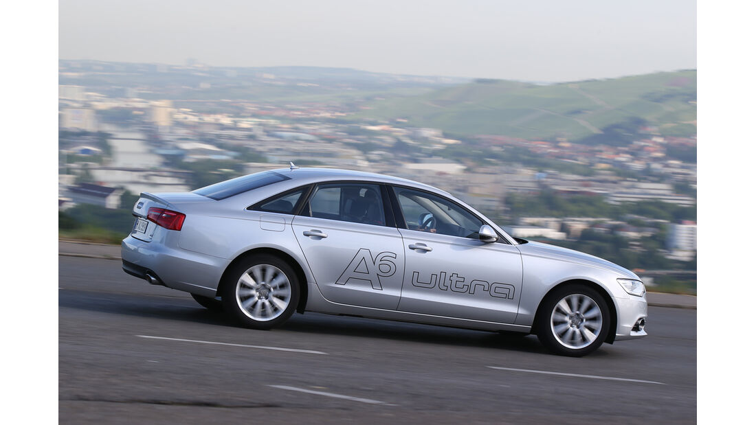 Audi A6 2.0 TDI Ultra, Seitenansicht