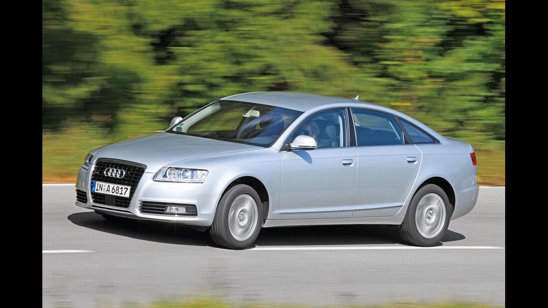 Audi A6 2.0 TFSI, Seitenansicht