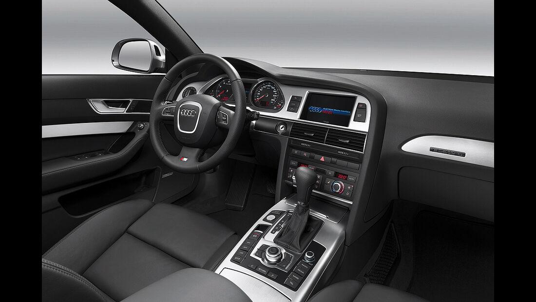 Audi A6, 2008, Innenraum, Cockpit