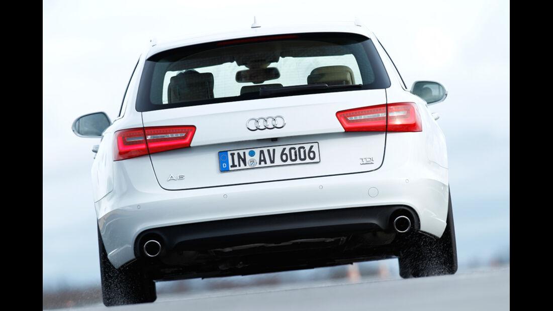 Audi A6 3.0 TD, Heck