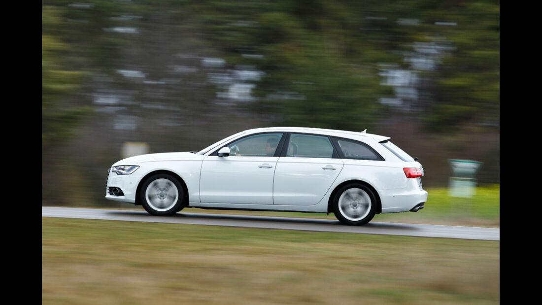 Audi A6 3.0 TD, Seitenansicht