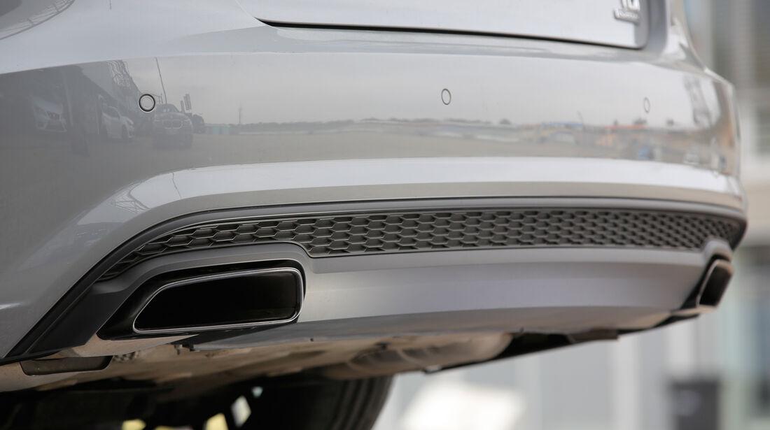 Audi A6 3.0 TDI Competition, Auspuff, Endrohre