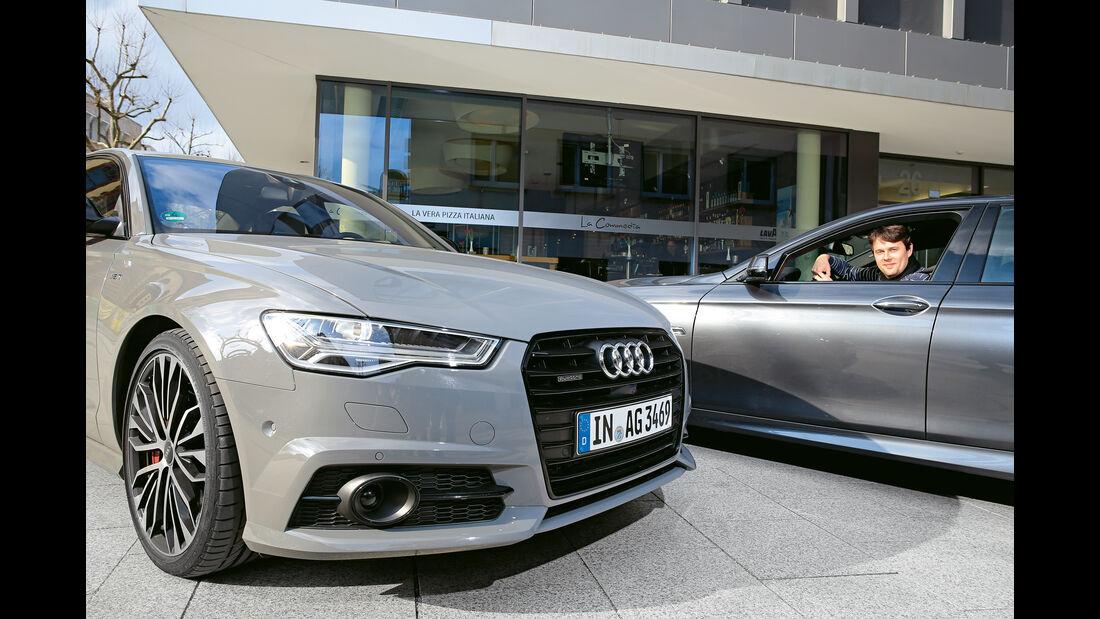 Audi A6 3.0 TDI Competition, BMW 535d, Impression