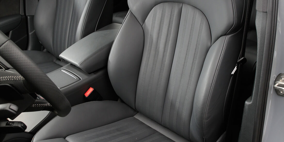 Audi A6 3.0 TDI Competition, Fahrersitz