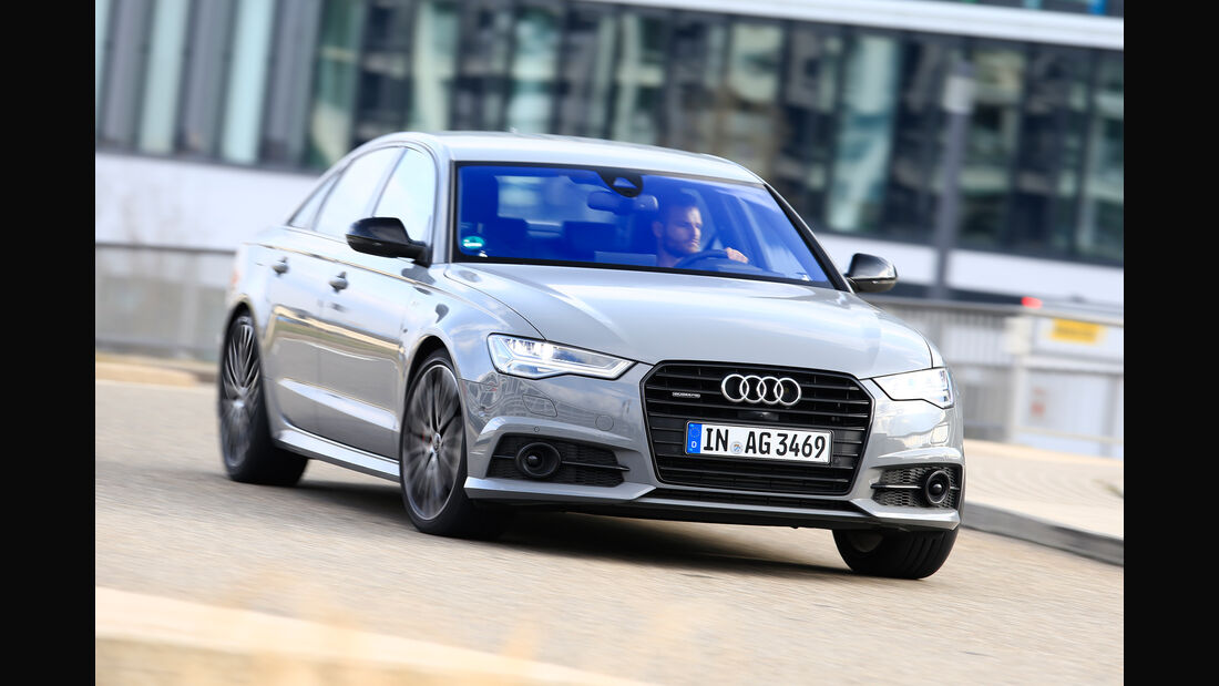 Audi A6 3.0 TDI Competition, Frontansicht
