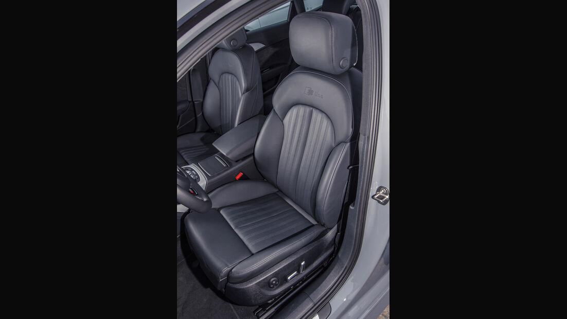 Audi A6 3.0 TDI, Fahrersitz