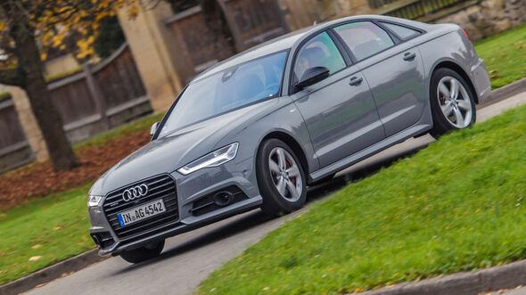 Audi A6 3.0 TDI, Frontansicht