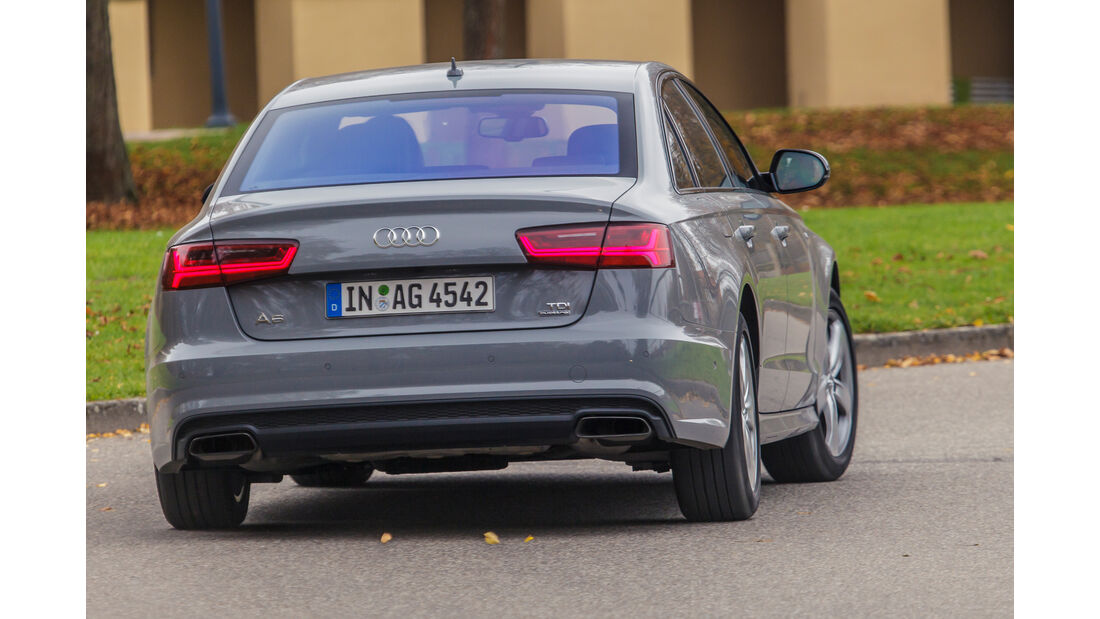 Audi A6 3.0 TDI, Heckansicht