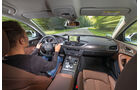 Audi A6 3.0 TDI Quattro, Cockpit