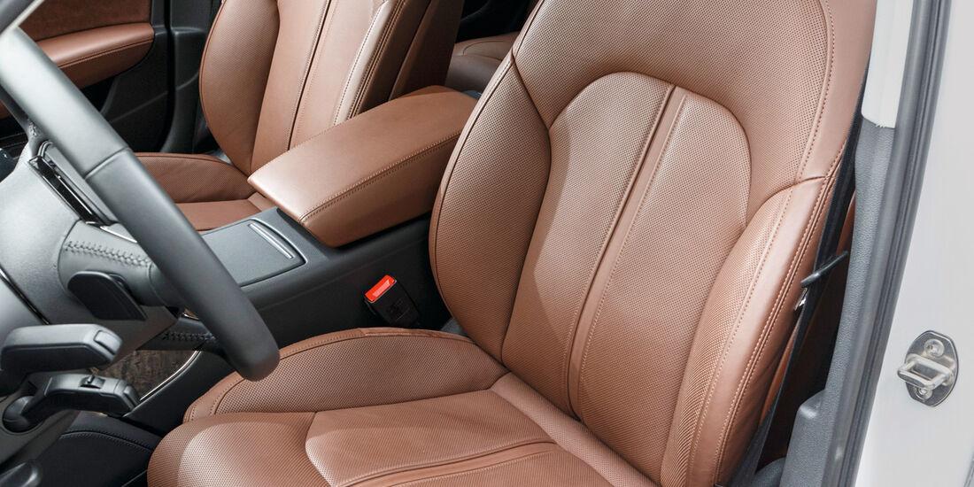 Audi A6 3.0 TDI Quattro, Fahrersitz