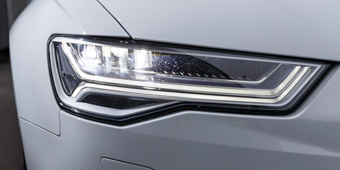 Audi A6 3.0 TDI Quattro, Frontscheinwerfer