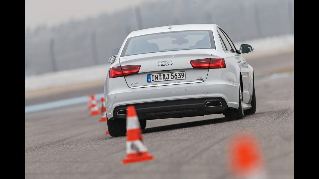 Audi A6 3.0 TDI Quattro, Heckansicht