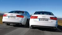 Audi A6 3.0 TDI Quattro, Heckansicht, Motorenvarianten