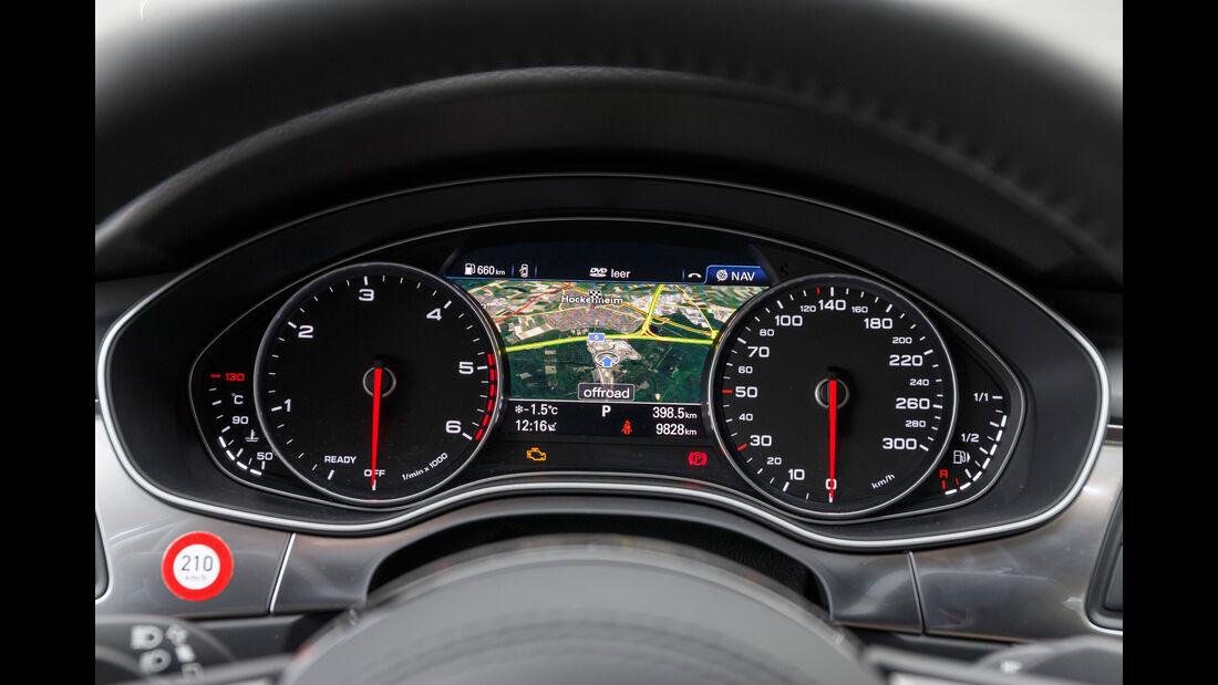 Audi A6 3.0 TDI Quattro, Navi, Rundinstrumente