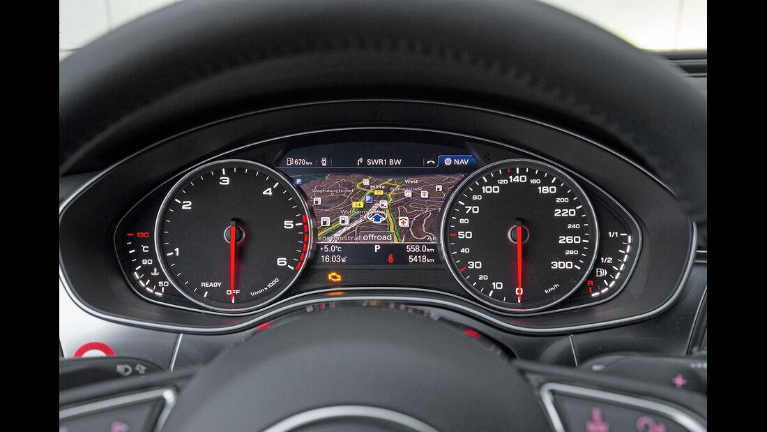 Audi A6 3.0 TDI Quattro, Rundinstrumente