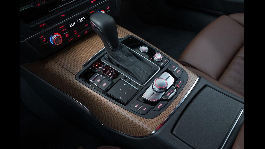 Audi A6 3.0 TDI Quattro, Schalthebel