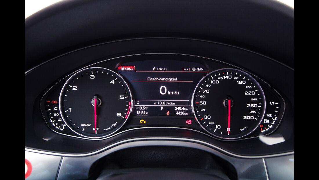 Audi A6 3.0 TDI, Rundinstrumente