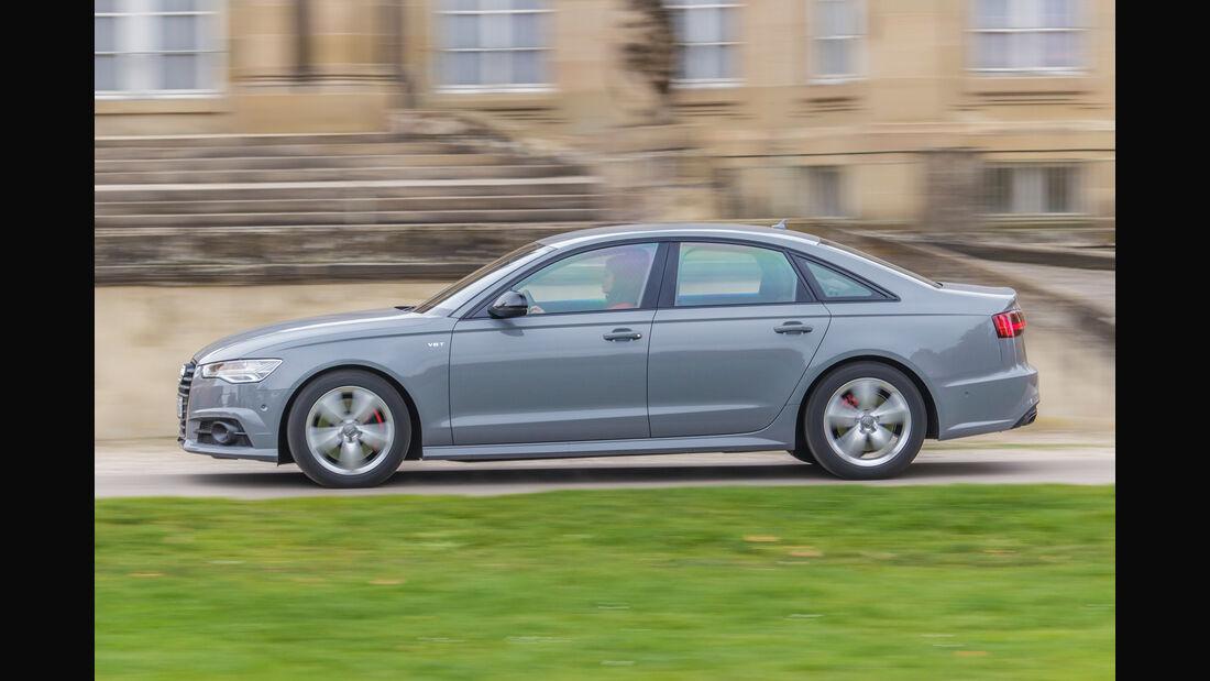 Audi A6 3.0 TDI, Seitenansicht