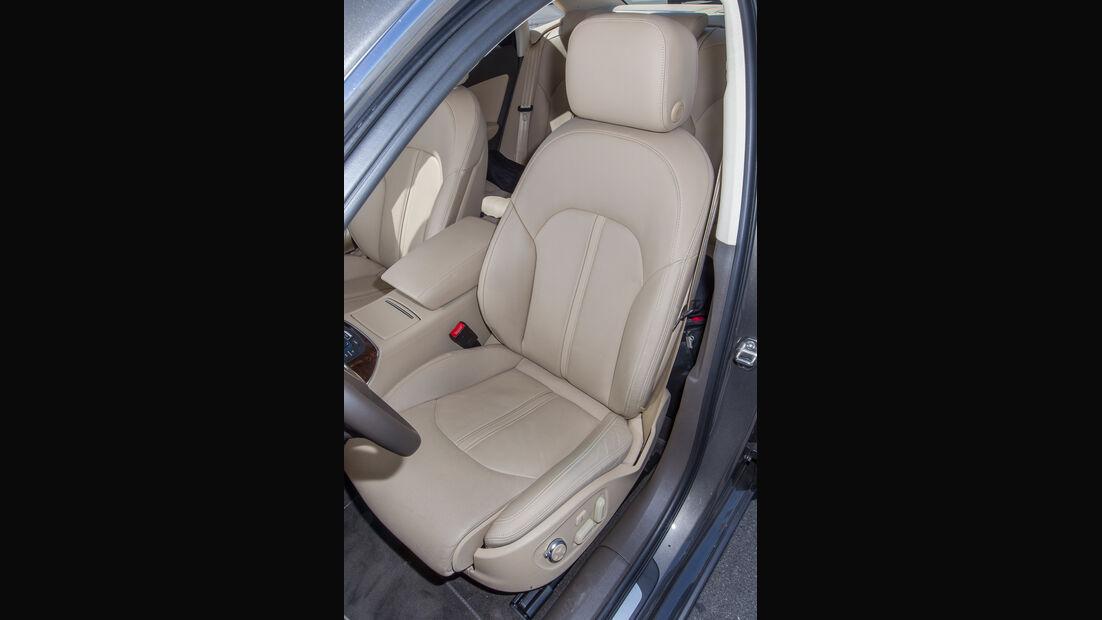Audi A6 3.0 TFSI, Fahrersitz