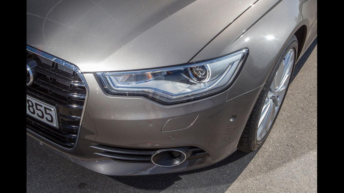 Audi A6 3.0 TFSI, Frontscheinwerfer