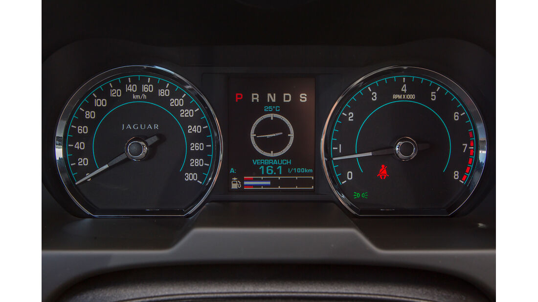 Audi A6 3.0 TFSI, Rundinstrumente