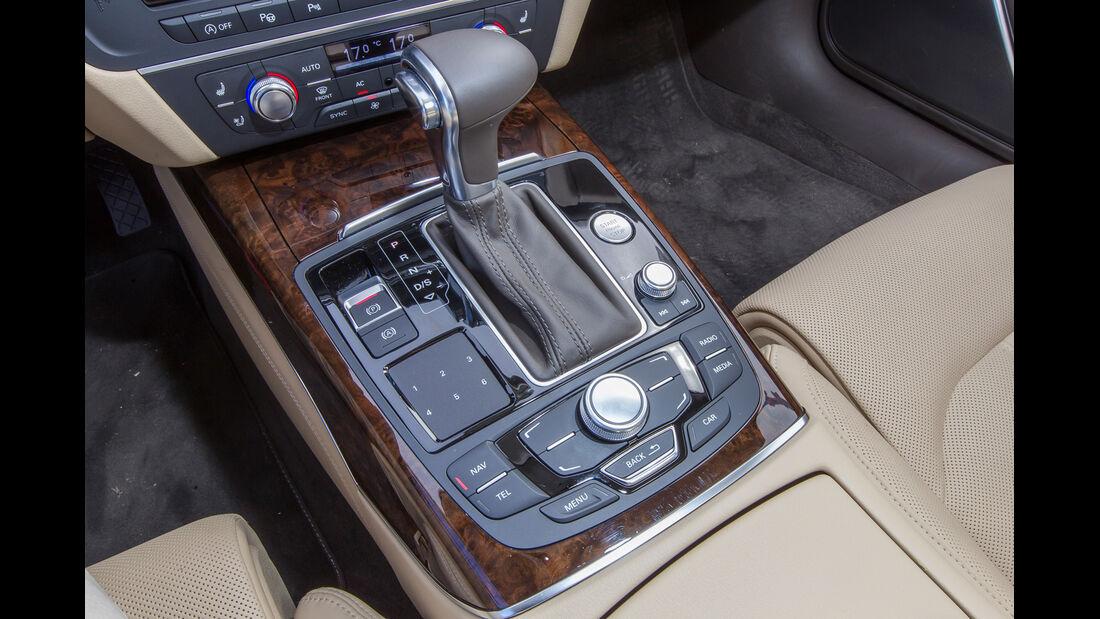 Audi A6 3.0 TFSI, Schalthebel