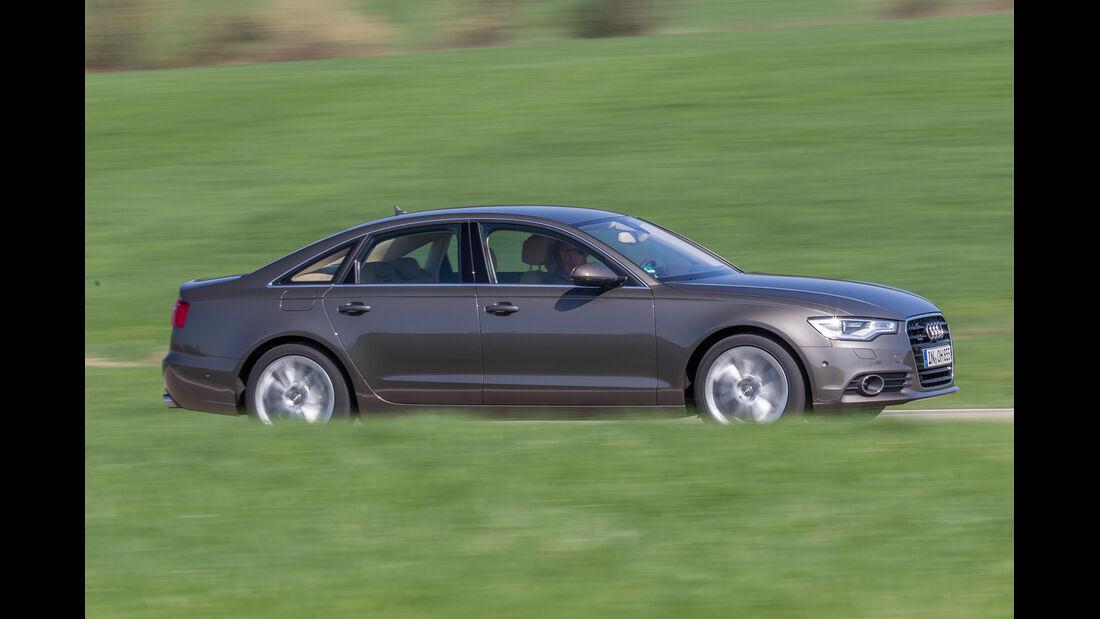 Audi A6 3.0 TFSI, Seitenansicht