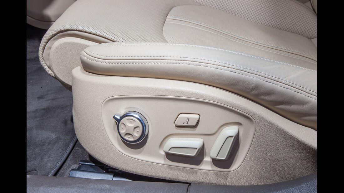Audi A6 3.0 TFSI, Sitzverstellung