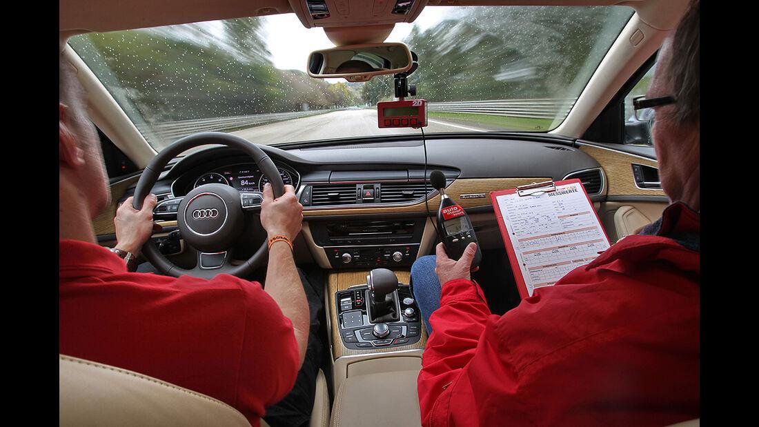 Audi A6, 3.0 TFSI quattro, Innenraum, Cockpit