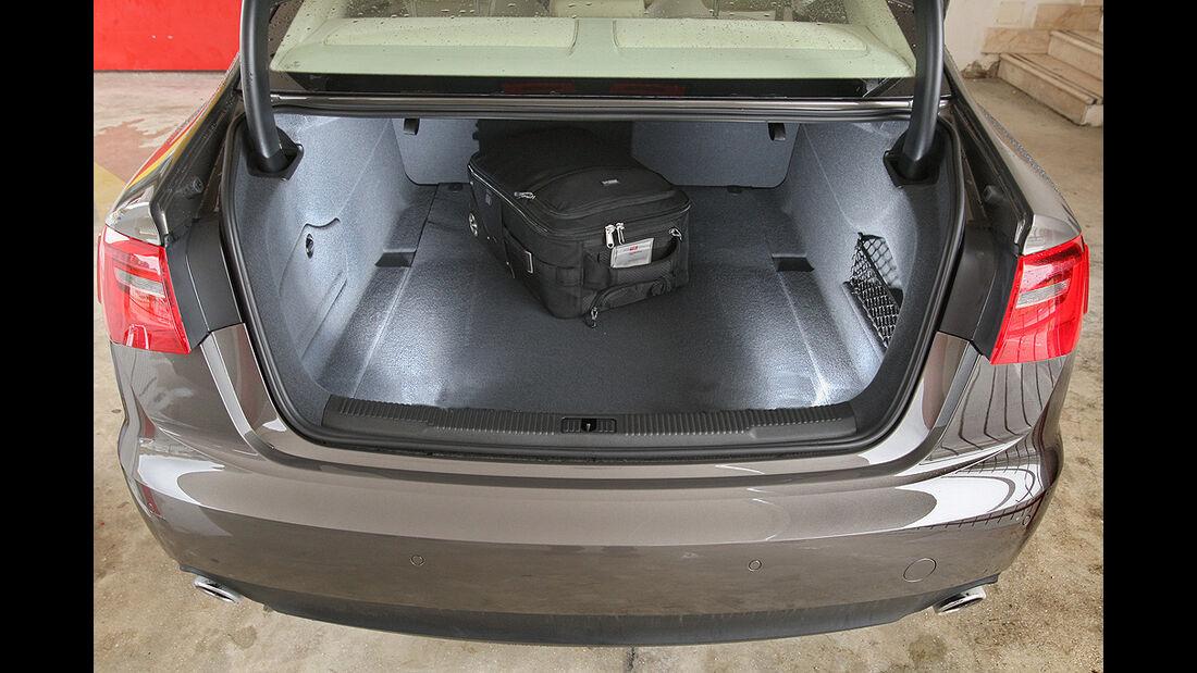Audi A6, 3.0 TFSI quattro, Kofferraum