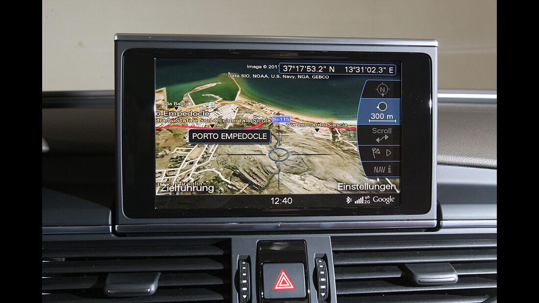 Audi A6, 3.0 TFSI quattro, Monitor, Navigation, Google Earth